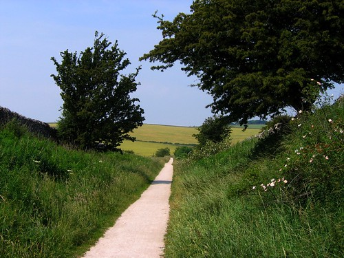 The Tissington Trail in Derbyshire