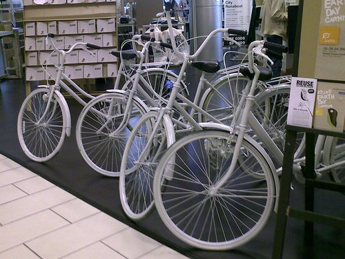 Re-cycle old bicycles