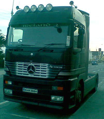 Mercedes Benz Actros Megaspace 01-KK-3654