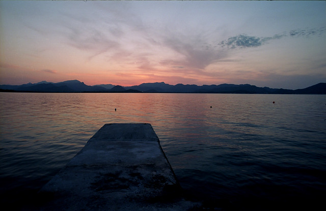 Alcudia's sunset