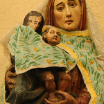 Mary and Baby Jesus Statue - Santiago La Laguna, Guatemala