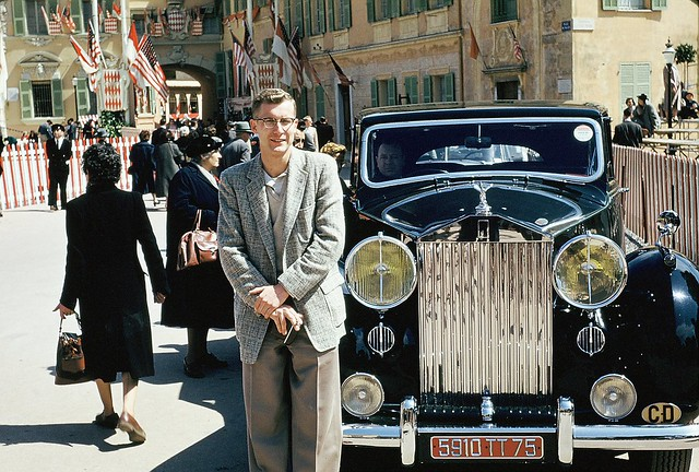 Ron and Duchess of Windsor's Car - 1956