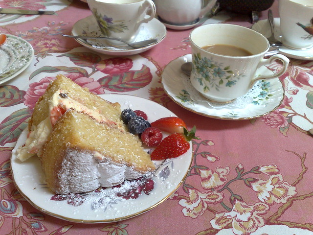 Lavender Tea Rooms Havant Menu