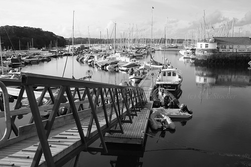 Mylor Harbour, River Fal (Carrick Roads) by Stocker Images