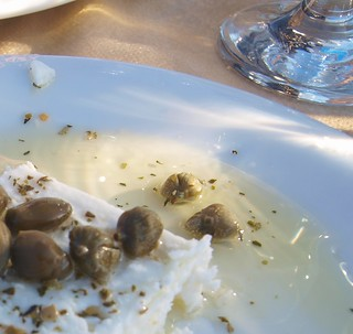 On Santorini, capers are sprinkled on local island dishes such as fava and house salads