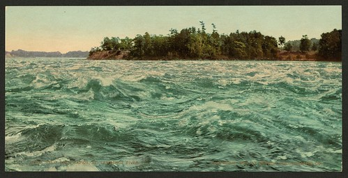 Split Rock Rapids, St. Lawrence River (LOC)
