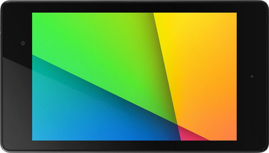 Nexus 7 (2013) 実物大の製品画像1