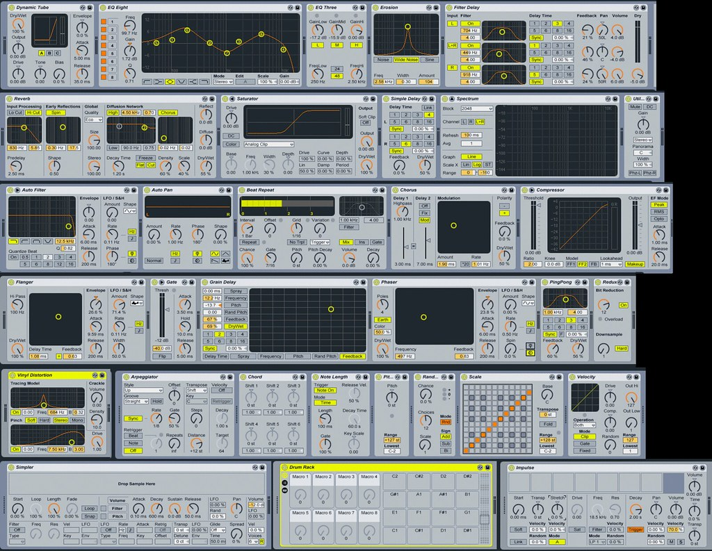 Ableton Live 7 Rack