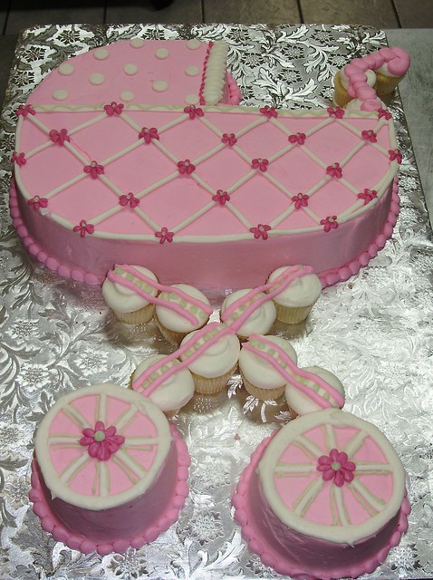 baby stroller cakes