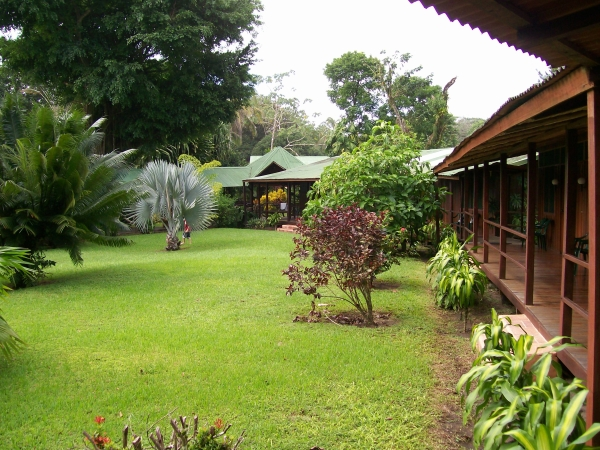Mawamba Lodge in Tortuguero Costa Rica - the lodge