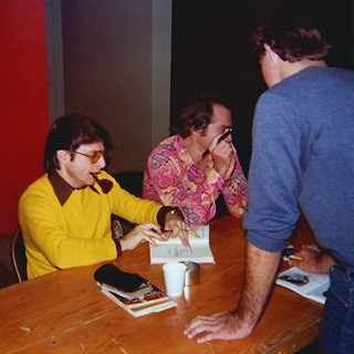 Harlan Ellison at a Star Trek Convention