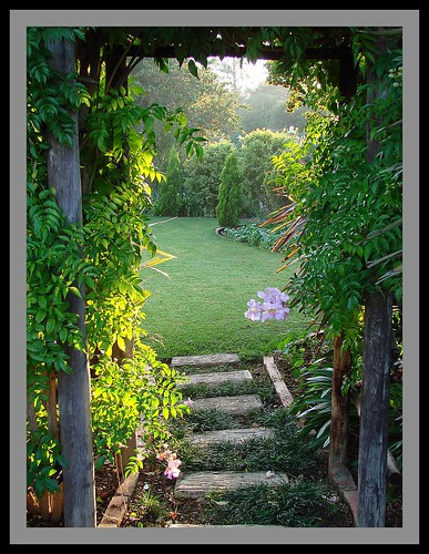 Entrance to the secret garden...