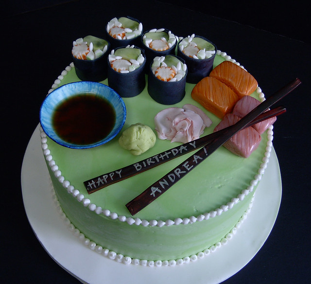 sushi cake | Flickr - Photo Sharing!