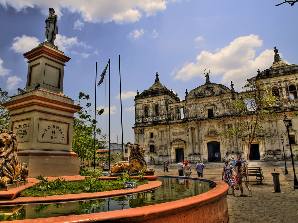 Nicaragua_Leon Catedral