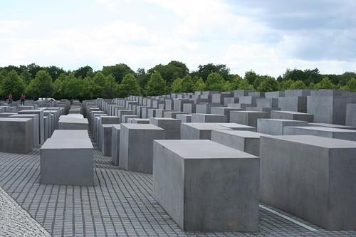 Monumento Memorial Holocausto em Berlim, Alemanha
