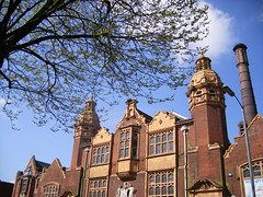 Moseley Road Baths (Public Library and Baths, Balsall Heath) - Balsall Heath Public Baths