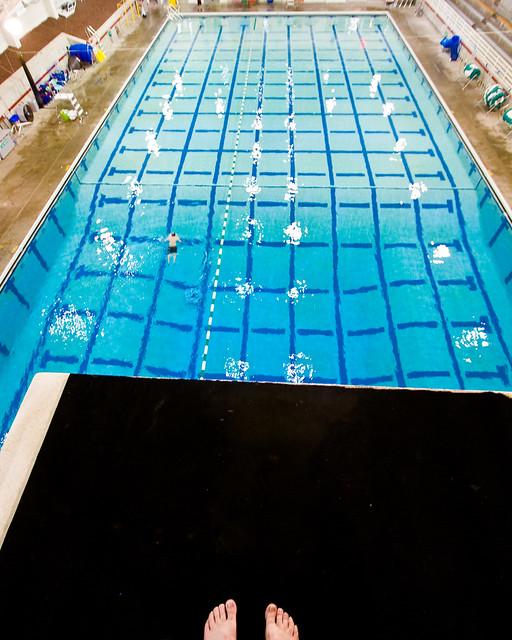 10 meter diving platform