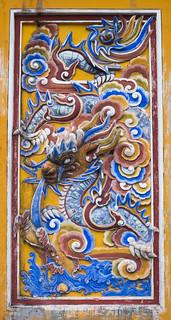 Reliefs of Hué Imperial Citadel