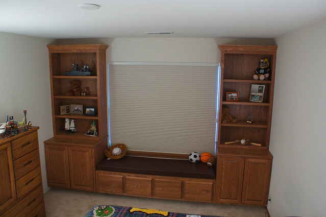 Tyler's Room Wall Unit