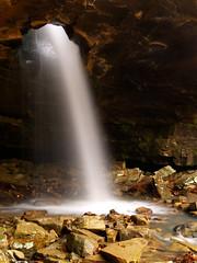 The Glory Hole & Lichen Falls