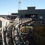 La Coaster-Express, la montaña rusa de madera