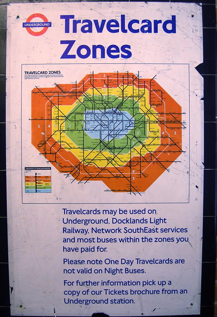 Travelcard Zones Flickr Photo Sharing