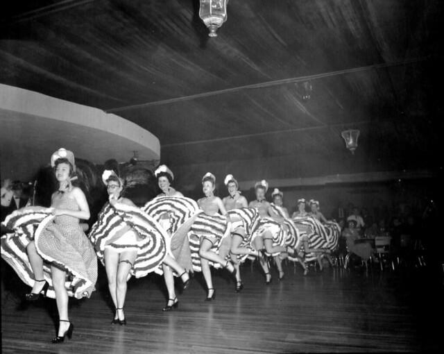 1952 Hanford Medical Dept. Cancan Girls