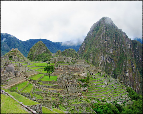 Approach to Machu Picchu: magic around the corner