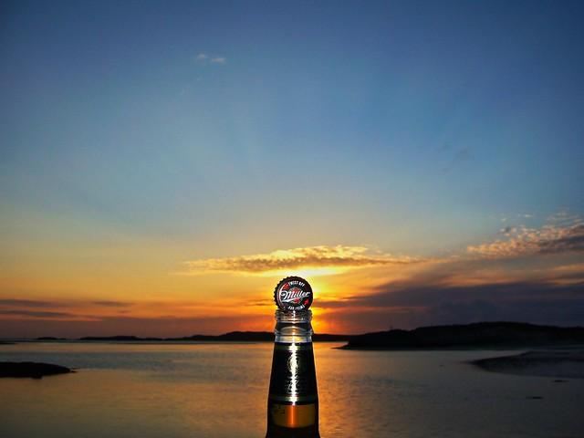 Miller Genuine Sunset