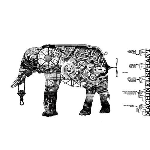 Elefante Mecánico 1