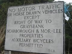 No Motor Traffic