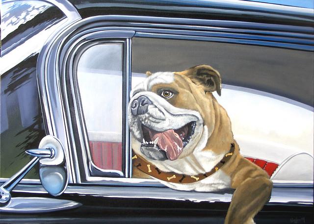 """""""Winston Takes a Ride"""""""