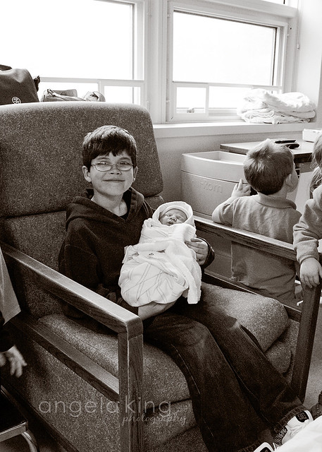{Isobel's birth}