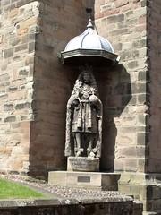 Photo of Charles II bronze plaque