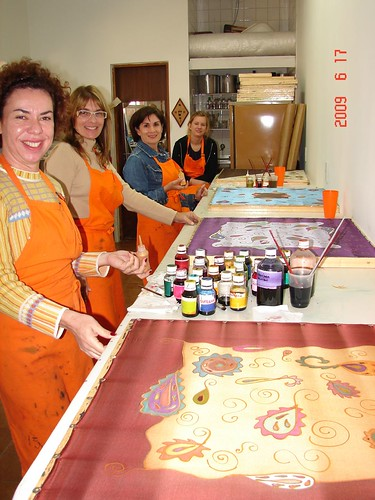 Workshop de Pintura em Seda - Técnica Cashemire by Atelier Mônica de Godoi