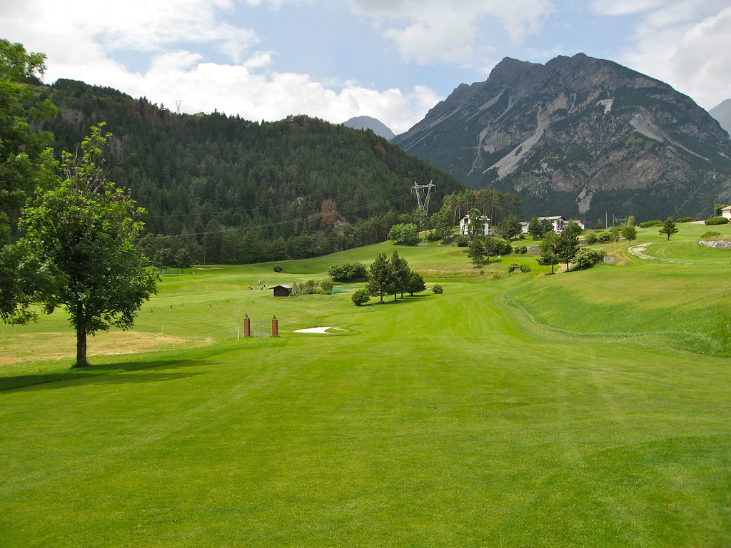 Golf Bormio - panorama