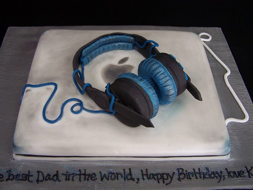 Adidas Headphones Cake