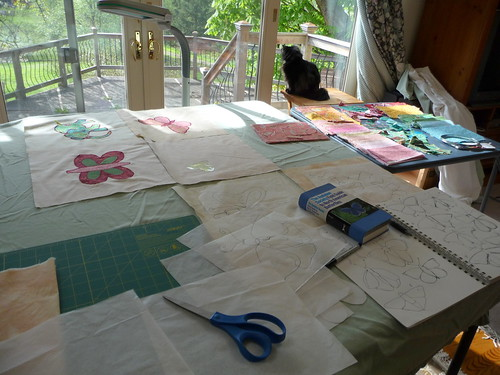 baby quilt design process