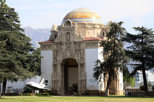 A hidden jewel and a must see is the Portal of the Folded Wings Shrine to Aviation, built in 1924 as the entrance to Pierce BrothersValhalla