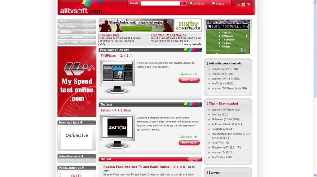 adult internet tv sites