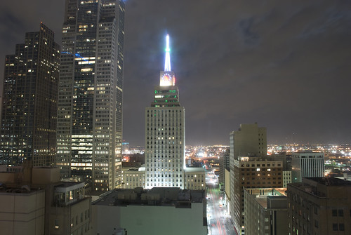Dallas - Downtown Buildings at Night