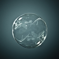 Bubble World Reflection