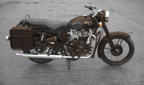 Royal Enfield Military Concept: Transport Brown