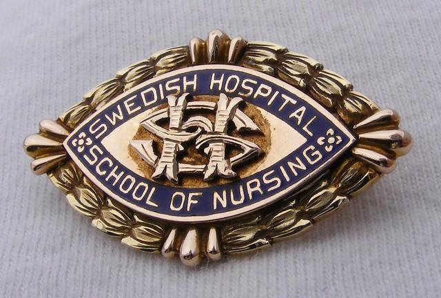 Swedish Hospital School Of Nursing Graduation Pin Flickr Photo Sharing