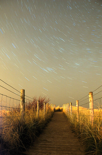 Startrail Path to the stars | by Puck51