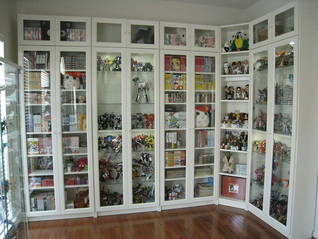 bookcases after billy bookcases from ikea with height ext flickr photo sharing. Black Bedroom Furniture Sets. Home Design Ideas