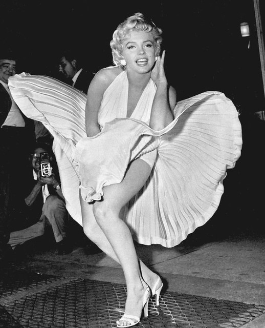 Marilyn Monroe famous shot 'The Seven Year Itch'