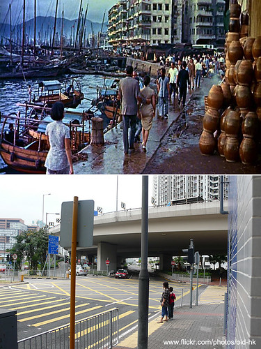 油麻地 - 渡船街、甘肅街 交界