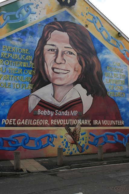 Who is bobby sands for Bobby sands mural