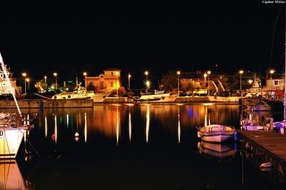 Harbour by night